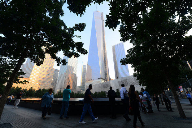 Just one month remains for first responders and volunteers who helped in 9/11 recovery efforts to register for future workers' compensation benefits with the state, in the instance they fall ill from their work at Ground Zero. (AP Photo/Alejandra Villa, Pool)