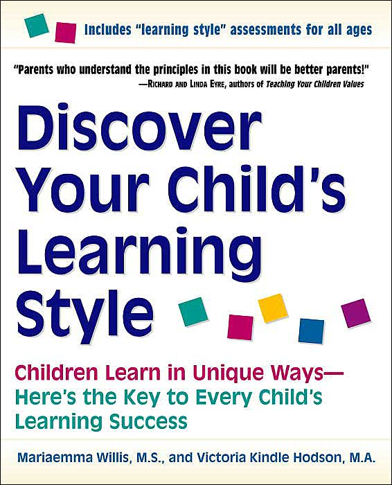 Discover Your Child's Learning Style Book Cover
