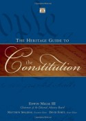 The Heritage Guide to the Constitution Book Cover