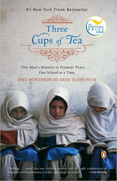 Three Cups of Tea Book Cover